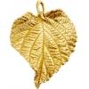 Bronze Pendant Ivy Leaf 32x28mm